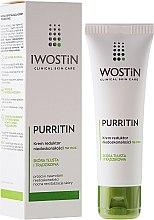 Parfüm, Parfüméria, kozmetikum Éjszakai krém, töéletes bőrért - Iwostin Purritin Reducing Imperfections Night Cream