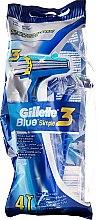 Parfüm, Parfüméria, kozmetikum Eldobható borotva szett, 4db - Gillette Blue 3 Simple