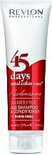 Parfüm, Parfüméria, kozmetikum Sampon és kondicionáló élénk-vörös - Revlon Professional Revlonissimo 45 Days Brave Reds