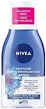 """Parfüm, Parfüméria, kozmetikum Sminklemosó szemre """"Kettős hatás"""" érzékeny szemre - Nivea Visage Double Effect Eye Make-Up Remover"""