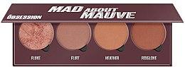 Parfüm, Parfüméria, kozmetikum Pirosító paletta - Makeup Obsession Mad About Mauve