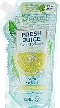 "Parfüm, Parfüméria, kozmetikum Micellás szer ""Juzu"" - Bielenda Fresh Juice Detoxifying Face Micellar Water Yuzu"