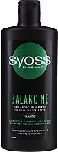 Parfüm, Parfüméria, kozmetikum Sampon ginseng kivonattal minden hajtípusra - Syoss Balancing Ginseng Shampoo