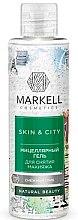 """Parfüm, Parfüméria, kozmetikum Micellás arclemosó gél """"Reszkető hógomba"""" - Markell Cosmetics Skin&City"""