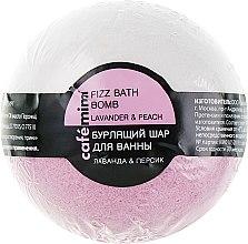 """Parfüm, Parfüméria, kozmetikum Fürdőhab """"Levendula és őszibarack"""" - Cafe Mimi Bubble Ball Bath"""