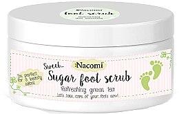 Parfüm, Parfüméria, kozmetikum Cukros láb peeling zöld tea kivonattal - Nacomi Sugar Foot Peeling