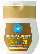 Parfüm, Parfüméria, kozmetikum Napvédő lotion SPF20 - Golden Sun