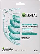 Parfüm, Parfüméria, kozmetikum Hidratáló szövetmaszk aloe verával és hialuron savval - Garnier Skin Naturals Hyaluronic Aloe Tissue Mask