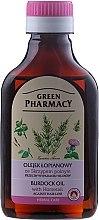 Parfüm, Parfüméria, kozmetikum Bojtorján olaj hajhullás ellen - Green Pharmacy