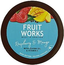 """Parfüm, Parfüméria, kozmetikum Testápoló olaj """"Málna és mangó"""" - Grace Cole Fruit Works Body Butter Raspberry & Mango"""