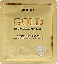 Parfüm, Parfüméria, kozmetikum Hidrogél arcmaszk arany tartalommal +5 - Petitfee&Koelf Gold Hydrogel Mask Pack +5 Golden Complex