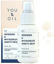 """Parfüm, Parfüméria, kozmetikum Arcolaj """"Táplálás és energia"""" - You & Oil Nourish & Invigorate Men's Skin Face Oil"""