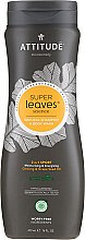 Parfüm, Parfüméria, kozmetikum Sampon 2 az 1-ben - Attitude 2-in-1 Sport Care Ginseng & Grape Seed Oil