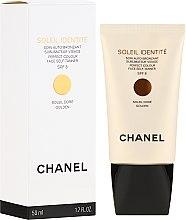 Parfüm, Parfüméria, kozmetikum Önbarnító szer - Chanel Soleil Identite SPF 8 Dore Golden