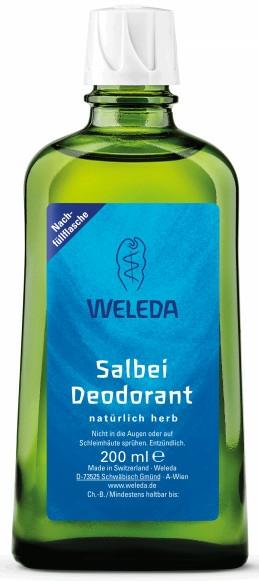 """Dezodor """"Zsálya"""" - Weleda Sage Deodorant Refill Bottle (tartalék blokk)"""