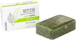 """Parfüm, Parfüméria, kozmetikum Szappan """"Zsálya"""" - Styx Naturcosmetic Basic Soap With Sage"""