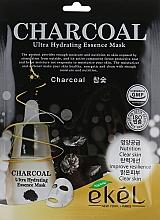 Parfüm, Parfüméria, kozmetikum Szövetmaszk faszénnel - Ekel Charcoal Ultra Hydrating Essence Mask