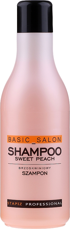 "Sampon ""Őszibarack"" - Stapiz Basic Salon Shampoo Sweet Peach"