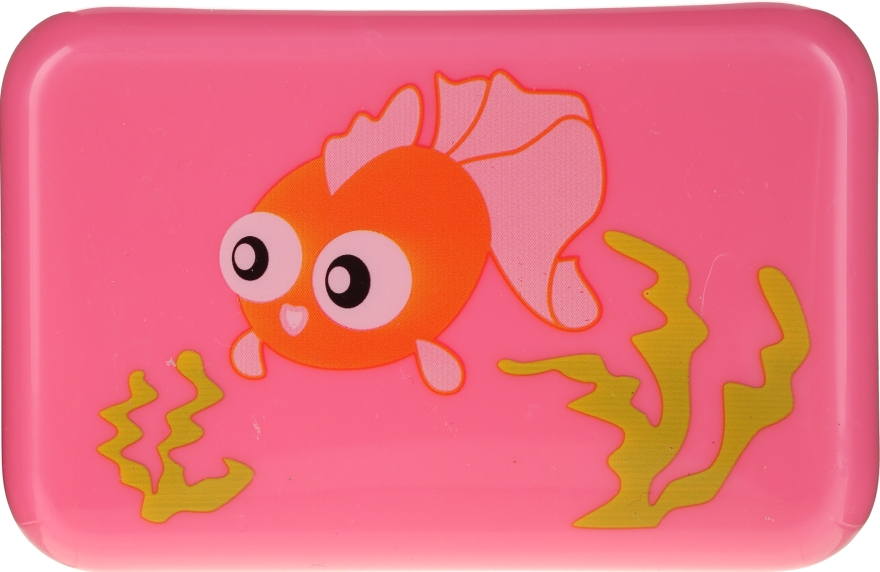 Gyerek szappantartó, 6024, rózsaszín halakkal - Donegal