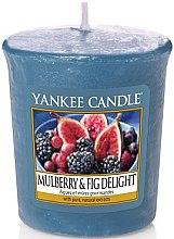 Parfüm, Parfüméria, kozmetikum Illatosított gyertya - Yankee Candle Mulberry and Fig Delight Votive
