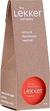 Parfüm, Parfüméria, kozmetikum Natúr illatmentes krém-izzadásgátló - The Lekker Company Natural Deodorant Neutral