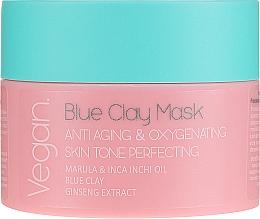 Parfüm, Parfüméria, kozmetikum Kék agyag maszk - Nacomi Blue Clay Mask Anti-Aging