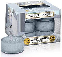Parfüm, Parfüméria, kozmetikum Tea illatgyertya - Yankee Candle Scented Tea Light Candles A Calm & Quiet Place