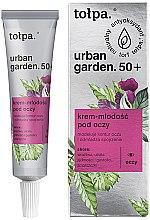 Parfüm, Parfüméria, kozmetikum Szemkörnyékápoló krém - Tolpa Urban Garden 50+ Eye Cream