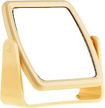 Parfüm, Parfüméria, kozmetikum Kozmetikai tükör 85727, négyzet alakú, sárga - Top Choice Beauty Collection Mirror