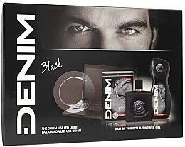 Parfüm, Parfüméria, kozmetikum Denim Black - Szett (edt/100ml + sh/gel/250ml)