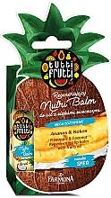 """Parfüm, Parfüméria, kozmetikum Ajakbalzsam """"Ananász és kókusz """" - Farmona Tutti Frutti Regenerating Lip Balm Pineapple & Coconut"""