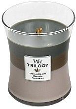 Parfüm, Parfüméria, kozmetikum Illatgyertya pohárban - WoodWick Hourglass Trilogy Candle Cozy Cabin