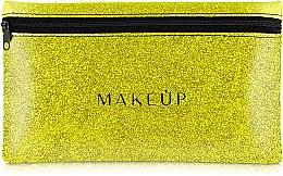 "Parfüm, Parfüméria, kozmetikum Szilikon neszeszer, arany ""Glitter Pouch"", 22x13cm - MakeUp"