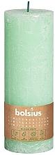 Parfüm, Parfüméria, kozmetikum Henger alakú gyertya, zöld, 190/68 mm - Bolsius