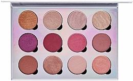Parfüm, Parfüméria, kozmetikum Mágneses szemhéjfesték paletta - Pur Extreme Visionary 12-Piece Magnetic Eyeshadow Palette