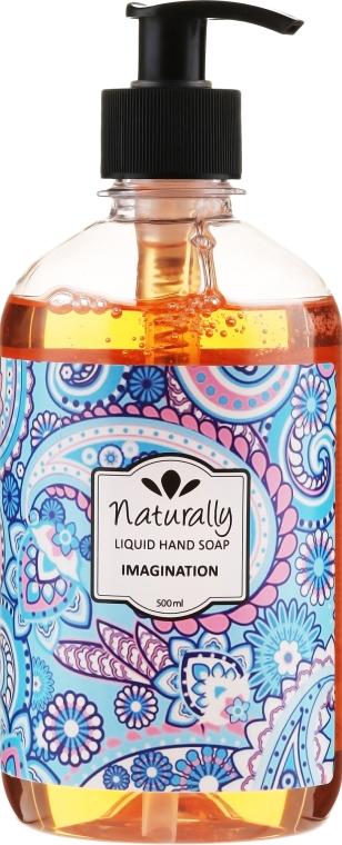 Természetes folyékony szappan - Naturally Hand Soap Imagination