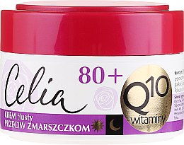"""Parfüm, Parfüméria, kozmetikum Dúsított ránctalanító krém """"Vitamin"""" - Celia Q10 Face Cream 80+"""