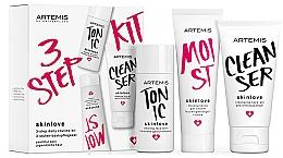 Parfüm, Parfüméria, kozmetikum Készlet - Artemis of Switzerland Skinlove 3 Step Daily Routine Kit (face/gel/30ml+face/tonic/30ml+gel/cr/20ml)