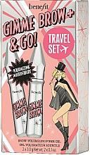 Parfüm, Parfüméria, kozmetikum Készlet - Benefit Gimme Brow & Go Set (mascara/3gx2)