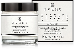 Parfüm, Parfüméria, kozmetikum Nappali nyugtató és védő krém - Avant Skincare Ceramides SPF20 Soothing and Protective Day Cream