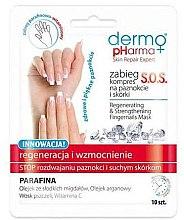 Parfüm, Parfüméria, kozmetikum Köröm regeneráló pakolás - Dermo Pharma Skin Repair Expert S.O.S. Regenerating& Strengthening Fingernails Mask