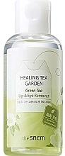 Parfüm, Parfüméria, kozmetikum Sminkelávolító szer ajakra és szemre - The Saem Healing Tea Garden Green Tea Lip & Eye Remover