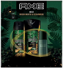 Parfüm, Parfüméria, kozmetikum Axe Wild - Szett (deo/150ml + sh/gel/250ml + edt/50ml)