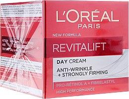 Parfüm, Parfüméria, kozmetikum Nappali elasztin ránctalanító krém - L'Oreal Paris Revitalift Anti-Wrinkle + Strongly Firming Day Cream