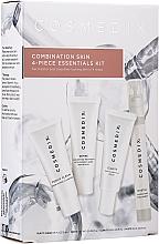 Parfüm, Parfüméria, kozmetikum Szett - Cosmedix Combination Skin 4-Piece Essentials Kit (f/cleanser/15ml + f/ser/15ml + f/ser/15ml + f/mist/15ml)