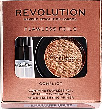 Parfüm, Parfüméria, kozmetikum Készlet - Makeup Revolution Flawless Foils (eyeshadow/2g + primer/2ml)