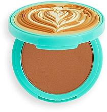 Parfüm, Parfüméria, kozmetikum Önbarnító arcra - I Heart Revolution Tasty Coffee Bronzer