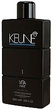 Parfüm, Parfüméria, kozmetikum Permanent fluid közepesen pórozitású hajra - Keune Vita Wave №1