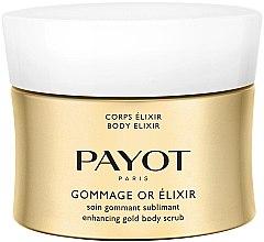 Parfüm, Parfüméria, kozmetikum Bőrtökéletesítő testradír - Payot Corps Elixir Gommage Or Elixir