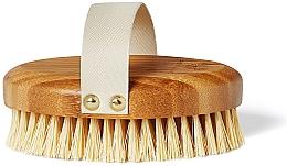 Parfüm, Parfüméria, kozmetikum Bambusz masszázskefe - Crystallove Bamboo Agave Body Brush